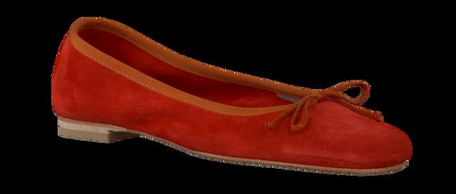 FRED DE LA BRETONIERE Ballerines 101007D en rouge - large