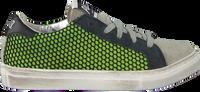 P448 Baskets 261913032 en vert  - medium