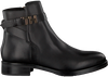 TOMMY HILFIGER Bottines TH HARDWARE FLAT en noir  - small