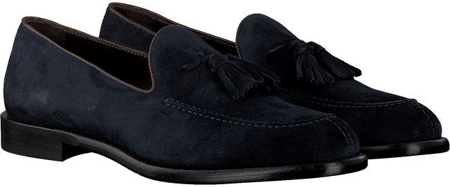 MAZZELTOV Loafers 9524 en bleu  - large