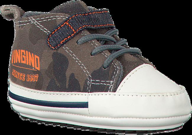 VINGINO Chaussures bébé TOM en gris - large