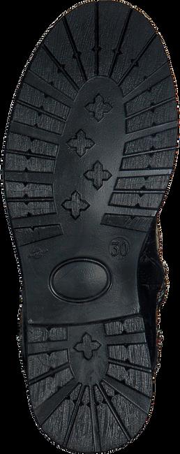 KANJERS Bottines à lacets 182-7300 en noir - large