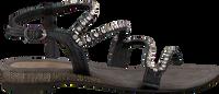 LAZAMANI Sandales 85.195 en noir  - medium