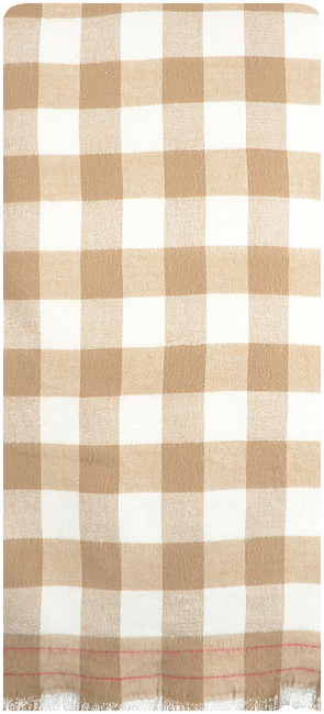 NOTRE-V Foulard CIRA en beige  - large