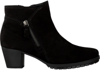 Zwarte GABOR Enkellaarsjes 603.1  - medium