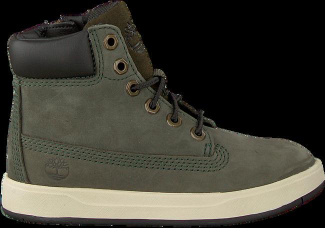 Groene TIMBERLAND Sneakers DAVIS SQUARE 6 INCH KIDS  - large