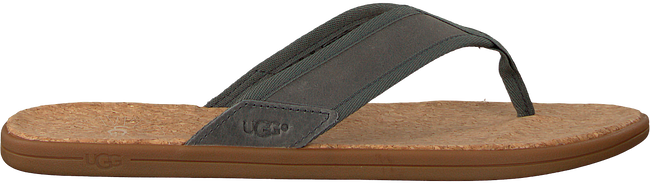 grijze UGG Slippers SEASIDE FLIP  - large