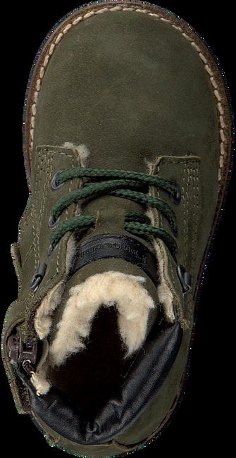 PINOCCHIO Bottines à lacets P2562 en vert - large