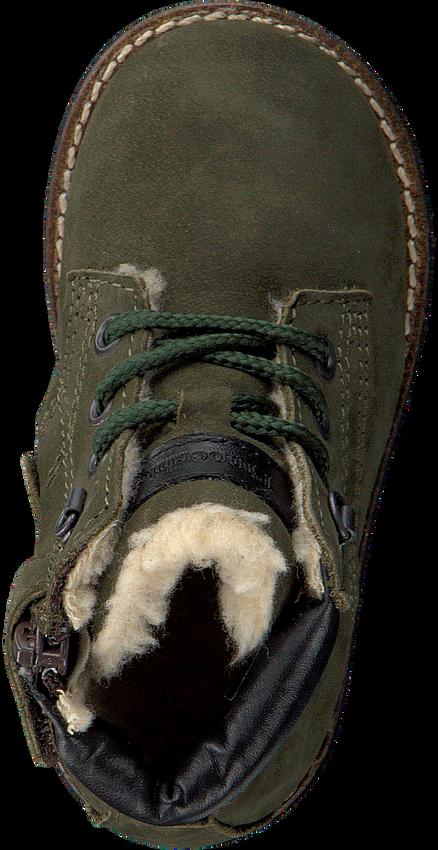 PINOCCHIO Bottines à lacets P2562 en vert - larger