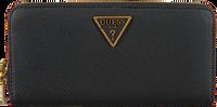 Zwarte GUESS Portemonnee DESTINY SLG LARGE ZIP AROUND  - medium