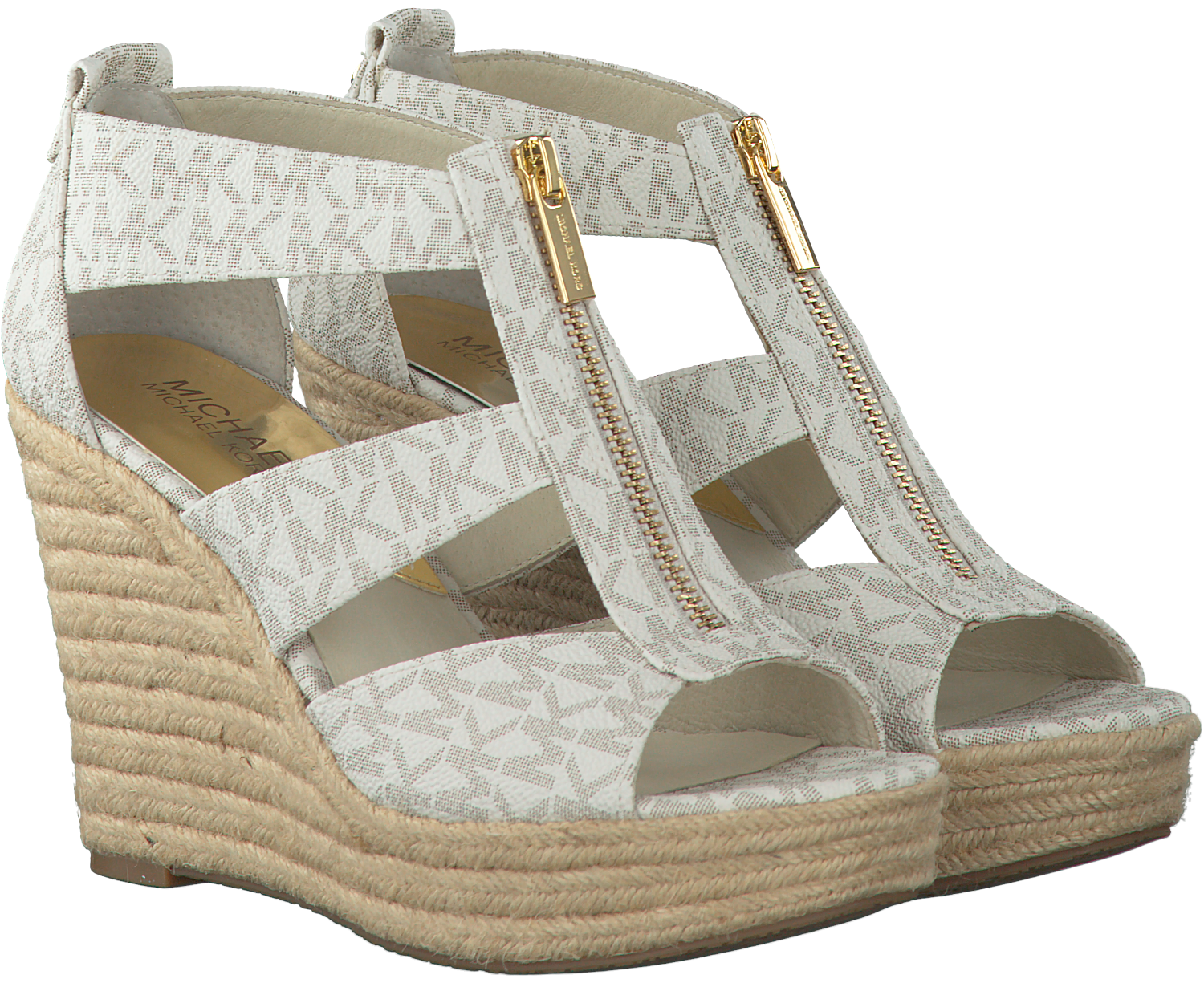 139a45b538a Witte MICHAEL KORS Sandalen DAMITA WEDGE - large. Next