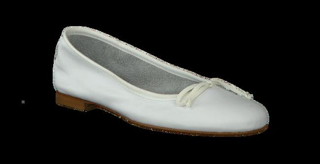 FRED DE LA BRETONIERE Ballerines 101007D en blanc - large