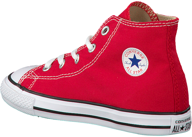 CONVERSE Baskets CTAS HI KIDS en rouge - large