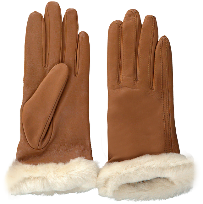 UGG Gants CLASSIC LEATHER SMART GLOVE en cognac - large