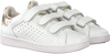 VINGINO Baskets TORNEO VELCRO en blanc - small