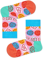 HAPPY SOCKS Chaussettes SWEET HEART en rose  - medium