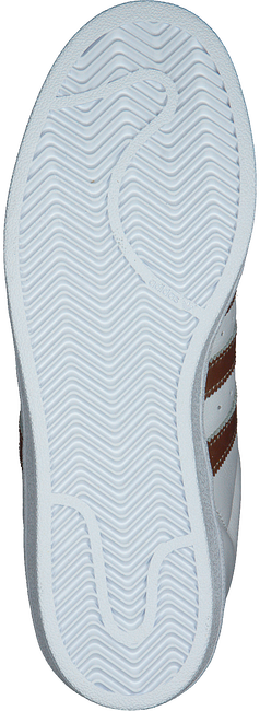 ADIDAS Baskets SUPERSTAR DAMES en blanc - large