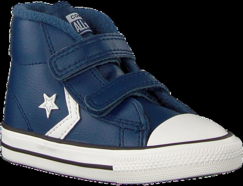 CONVERSE Baskets STAR PLAYER 2V MID en bleu - larger