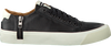 DIESEL Baskets ZIP-TURF en noir - small