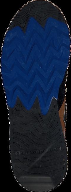 FLORIS VAN BOMMEL Baskets 16092 en noir  - large