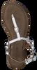 LAZAMANI Sandales 75.211 en blanc - small