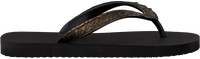 UZURII Tongs PYTHON en noir - medium