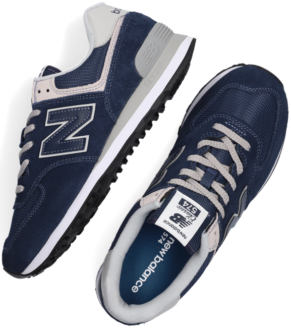 NEW BALANCE Baskets ML574 MEN en bleu - large