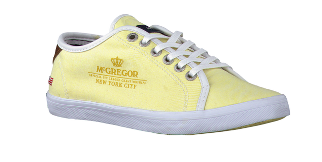 MCGREGOR Chaussures à lacets COLLEGE LACE UP WOMEN en jaune - large