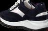 HASSIA Baskets basses VALENCIA en bleu  - small