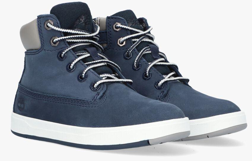 Blauwe TIMBERLAND Sneakers DAVIS SQUARE 6 INCH KIDS - larger