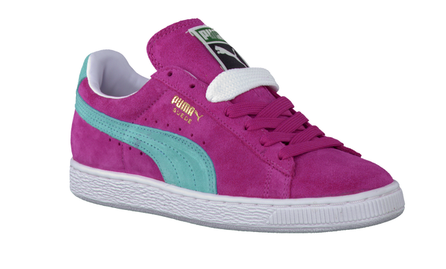 PUMA Baskets SUEDE CLASSIC JR en rose - large