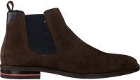 Bruine TOMMY HILFIGER Chelsea boots SIGNATURE HILFIGER CHELSEA  - medium