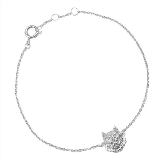 ALLTHELUCKINTHEWORLD Bracelet SOUVENIR BRACELET WOLF en argent - large