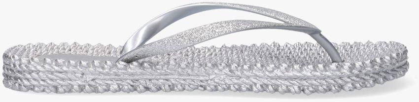 Zilveren ILSE JACOBSEN Slippers CHEERFUL01 - larger