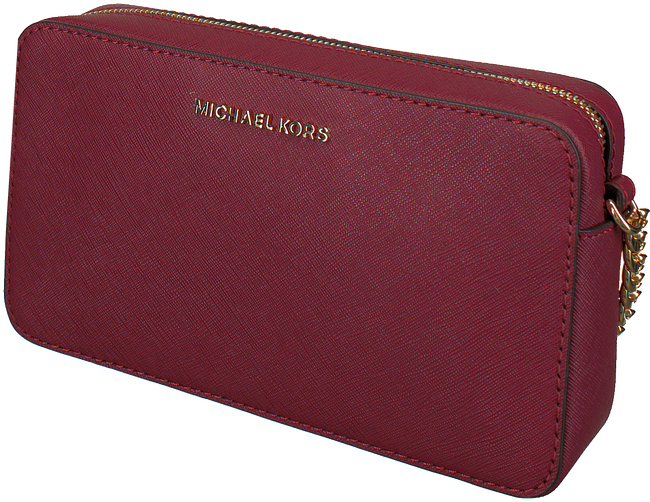 MICHAEL KORS Sac bandoulière MD EW CROSSBODY en rouge - large