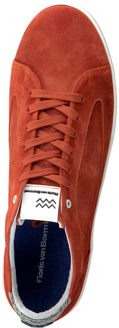 FLORIS VAN BOMMEL Baskets basses 13265 en rouge  - large