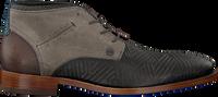REHAB Bottines à lacets SALVADOR ZIG ZAG en gris - medium