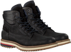 NZA NEW ZEALAND AUCKLAND Bottines à lacets LEIGH HIGH en noir  - small