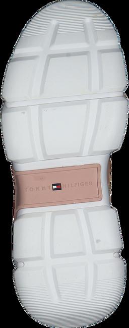 TOMMY HILFIGER Baskets basses CHUNKY LIFESTYLE GLITTER en beige  - large