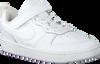 NIKE Baskets basses COURT BOROUGH LOW 2 (PS) en blanc  - small