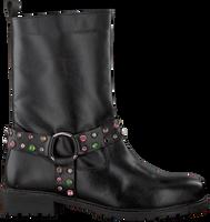 Zwarte NIKKIE Veterboots STONE BOOTS  - medium