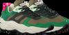SCOTCH & SODA Baskets basses CELEST en vert  - small