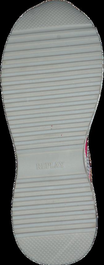 REPLAY Baskets basses DUBAI en blanc  - larger