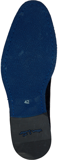VAN LIER Richelieus 5340 en bleu - large