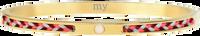 Gouden MY JEWELLERY Armband CORD BANGLE - medium