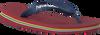 HAVAIANAS Tongs BRASIL LOGO KIDS en rouge - small
