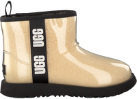 UGG Bottes fourrure CLASSIC CLEAR MINI 11 en blanc  - medium