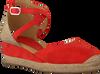 UNISA Espadrilles CAUDE en rouge  - small