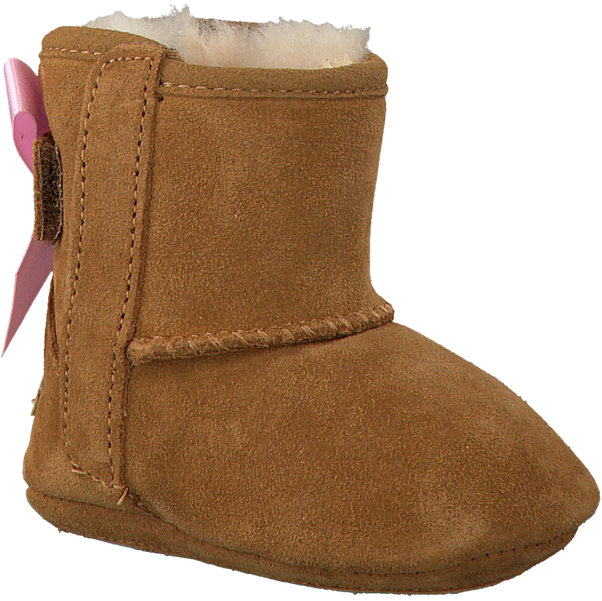 UGG Chaussures bébé JESSE BOW II en cognac - larger