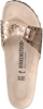 BIRKENSTOCK PAPILLIO Tongs MADRID METALLIC STONES en beige - small